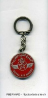 AVIATION CIVILE AIR MAROC 2 METAL EMAILLE ROUGE